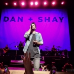 Dan + Shay opening for Rascal Flatts in Hartford CT on June 8, 2018. Photo by Shawn St. Jean
