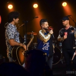 Dan + Shay with Cody Allen in NYC / Photo by Shawn St. Jean