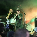 Dallas Smith at FarmBorough Festival in New York City on June 27, 2015.