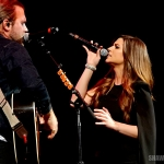 Gloriana at NASH BASH 2015, presented by NASH FM 94.7, at the Barclays Center in Brooklyn, NY on March 24, 2015.