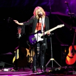 Lindsay Ell on the CMT Next Women of Country Tour at the Beacon Theatre in NYC on January 20, 2016.