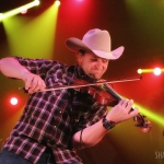 Jon Pardi opening for Kip Moore at Terminal 5 in NYC on December 1, 2016.