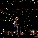 Justin Moore opening for Miranda Lambert at Madison Square Garden in NYC on March 28, 2015.
