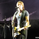 Keith Urban at the Xfinity Theatre in Hartford CT on August 16, 2014.