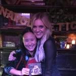 Kelsea Ballerini with Karyn Alfini at The Wayland on November 2, 2017