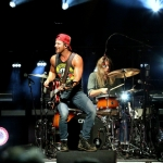 Kip Moore opening for Miranda Lambert at Xfinity Theatre in Hartford CT on August 19, 2016