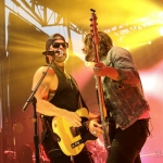 Kip Moore and Manny Medina in Rhinebeck NY, August 24, 2018 / Photo by Shawn St. Jean