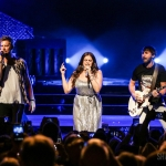 Lady Antebellum in Hartford on July 28, 2018. Photo by Shawn St. Jean.