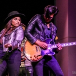 Auggie Pajares performing with Lauren Davidson at The Palace Theatre in Stamford CT / Photo by Shawn St. Jean