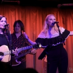 Lori McKenna and Hailey Whitters at SubCulture NYC on July 25, 2019 / Photo by Shawn St. Jean
