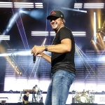 Luke Bryan in Bristow VA, August 18, 2018 / Photo by Shawn St. Jean