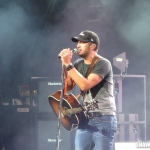 Luke Bryan in Hartford CT on September 13, 2014.