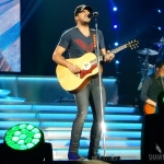 Luke Bryan at Mohegan Sun on the 2016 Kill The Lights Tour, February 27, 2016.