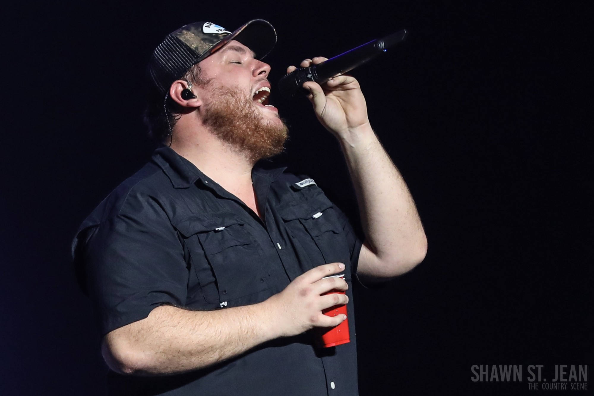 Luke Combs Brings His Sold Out Beer Never Broke My Heart