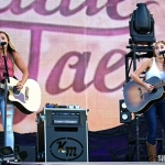 Maddie & Tae at FarmBorough Festival in New York City on June 26, 2015.