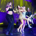 Maren Morris with Kassi Ashton, Hailey Whitters and Annie Clements at Radio City Music Hall, September 6, 2019 / Photo by Shawn St. Jean