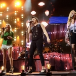 The Pistol Annies in Hartford CT on July 20, 2018 / Photo by Shawn St. Jean