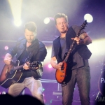 Parmalee at the Dutchess County Fair in Rhinebeck NY on August 24, 2016.