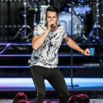 Russell Dickerson in Hartford on July 28, 2018. Photo by Shawn St. Jean.