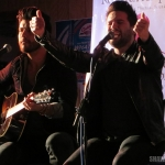 Dan + Shay, The Brothers Osborne, The Swon Brothers and Courtney Drummey performing at the Cadillac Ranch in Southington Connecticut on February 10, 2015 in a benefit for St. Jude's Children's Research Hospital.