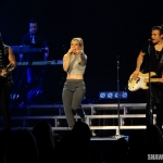 The Band Perry at the Mohegan Sun Arena on September 25, 2015.
