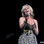 Nicole Frechette opening for The Band Perry at the Oakdale Theatre on May 1, 2014