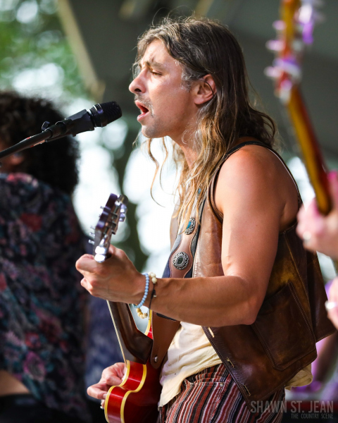 Them Vibes opening for Maggie Rose in New Haven CT on July 22, 2021 at CT Folk's 'Folk at the Edge' concert series. Photo by Shawn St. Jean