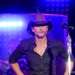 Tim McGraw's album release party for Damn Country Music in NYC on November 11, 2015.