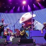 The Turnpike Troubadours in Hartford CT on July 20, 2018 / Photo by Shawn St. Jean