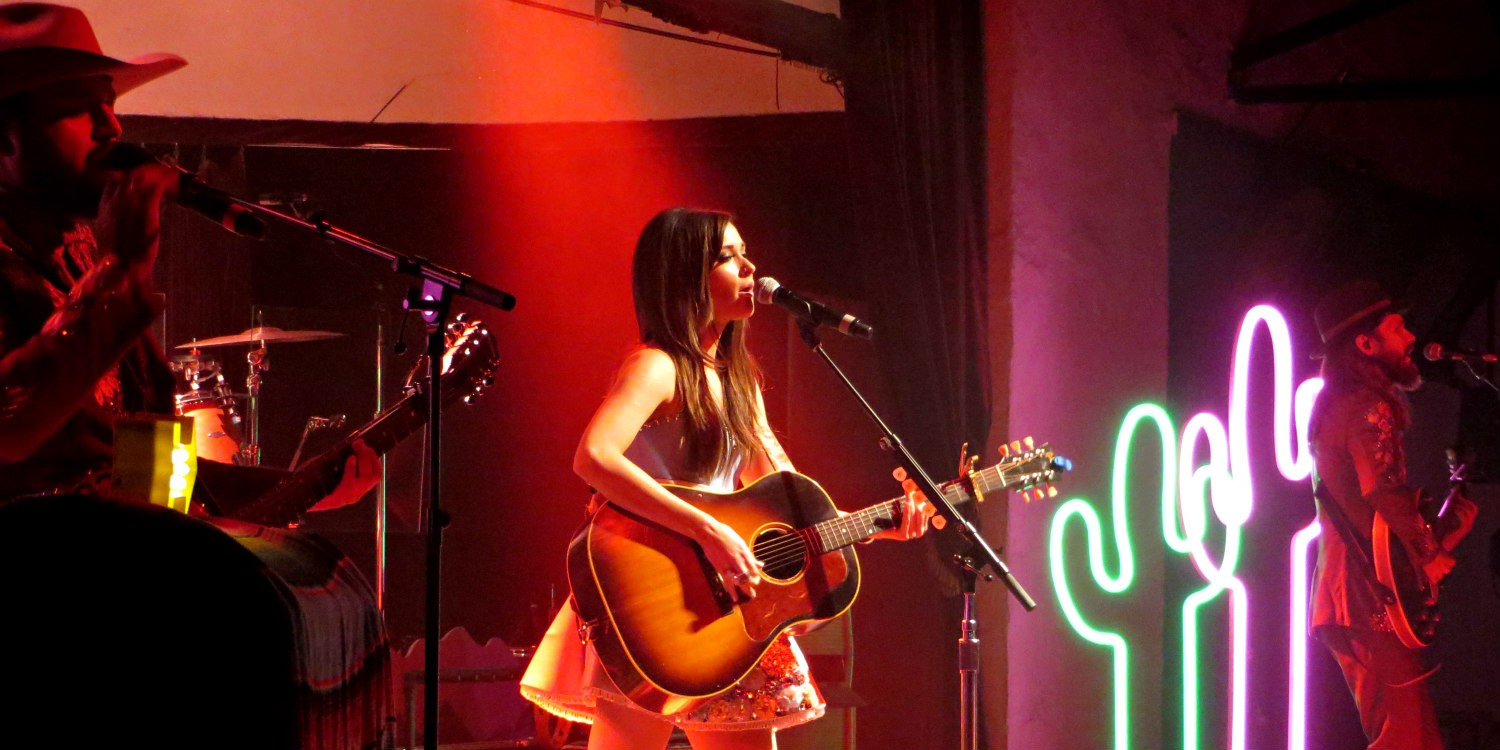 Kacey Musgraves at Cain's Ballroom in Tulsa OK on September 25, 2014.