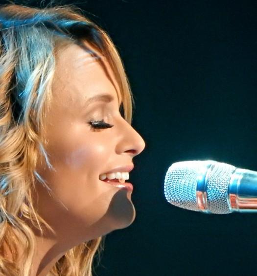 Miranda Lambert at Madison Square Garden in NYC on March 28, 2015.