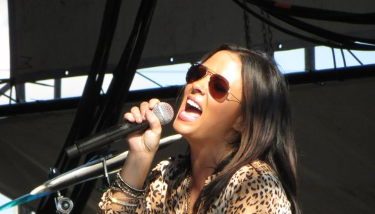 Sara Evans at the Woodstock Fair