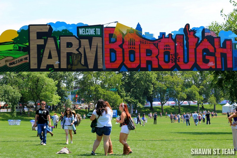 FarmBorough Festival in New York City on June 26, 2015.