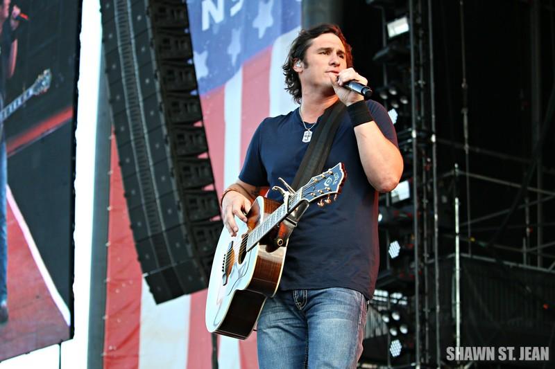 Joe Nichols at FarmBorough Festival in New York City on June 26, 2015.