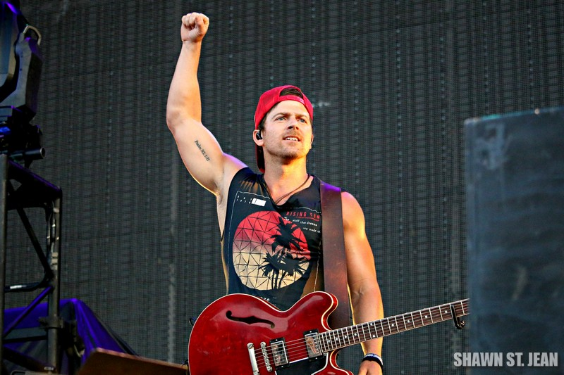 Kip Moore at FarmBorough Festival in New York City on June 26, 2015.