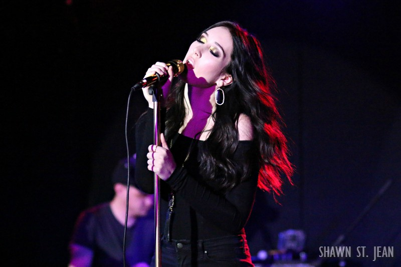 Aubrie Sellers album release show at Mercury Lounge in NYC on January 27, 2016.