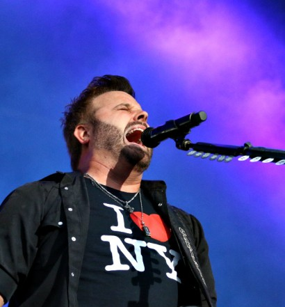 Randy Houser at FarmBorough Festival in NYC on June 28, 2015.