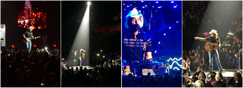 Brad Paisley at Mohegan Sun - Photos by Emily Yourie