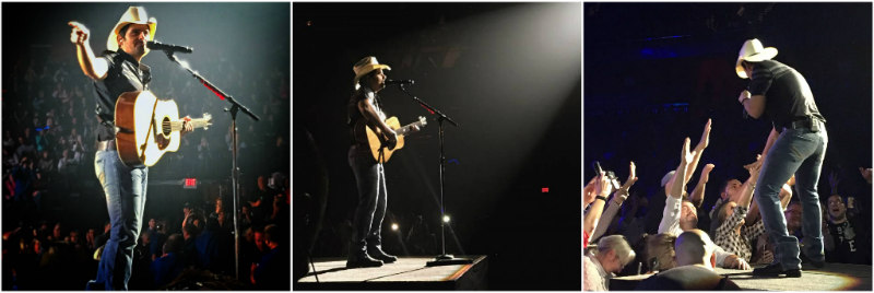 Brad Paisley at Mohegan Sun - Photos by Lauren Cardarelli