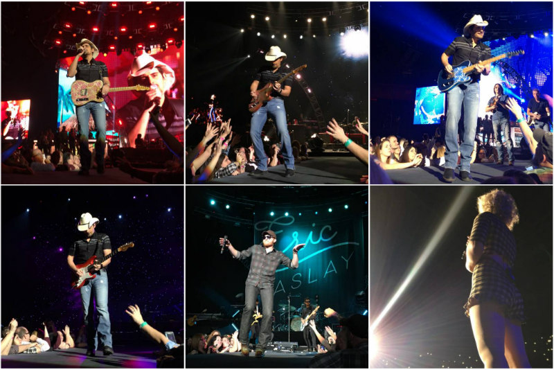 Brad Paisley at Mohegan Sun - Photos by Natalie DiGennaro