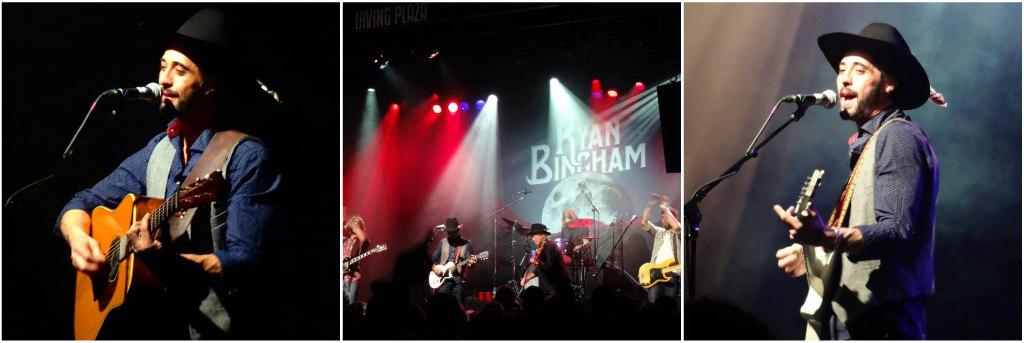 Ryan Bingham at Irving Plaza, February 5, 2016. Photos by Lindsay Curl