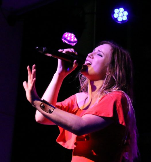 Olivia Lane at the Palace Theatre in Stamford CT on May 7, 2016.