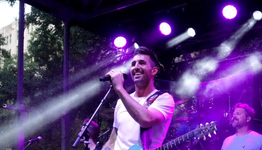 Jake Owen Celebrates American Love in NYC