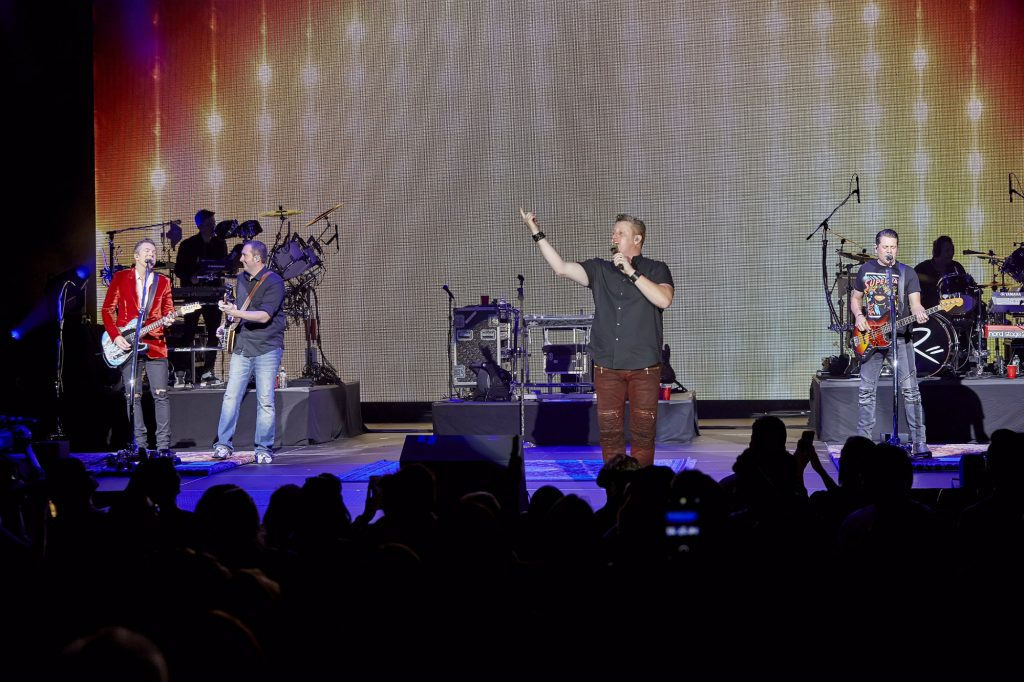 Rascal Flats performs at The Theater at Madison Square Garden in NYC on November 14, 2016. Photo by Carl Scheffel/MSG Photos.