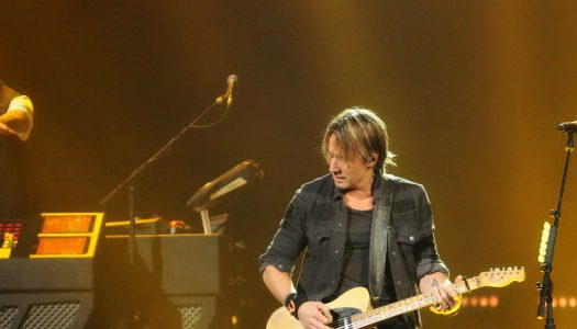 Keith Urban Rips Through Brooklyn