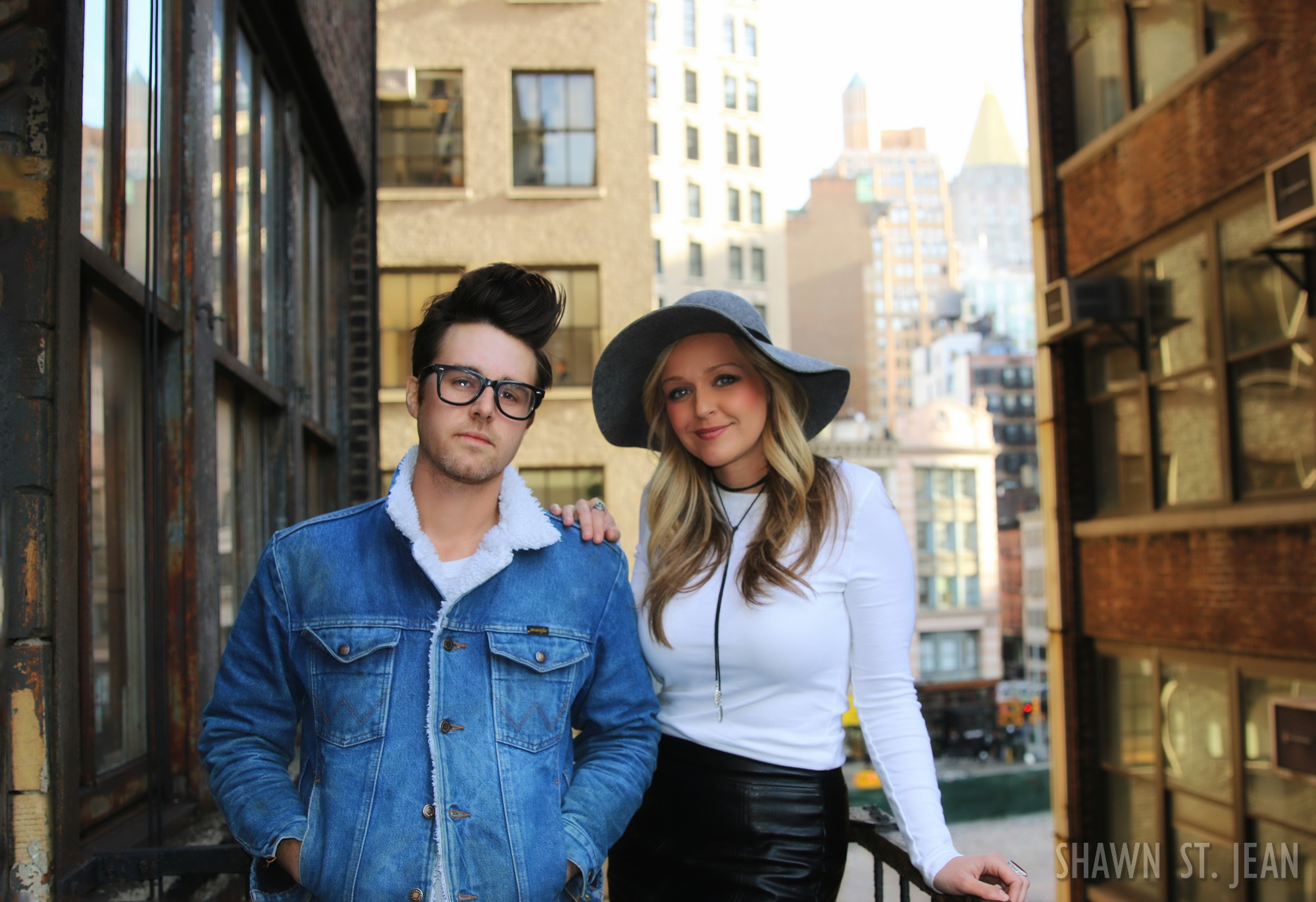Jon Decious and Steevie Steeves of Towne in NYC