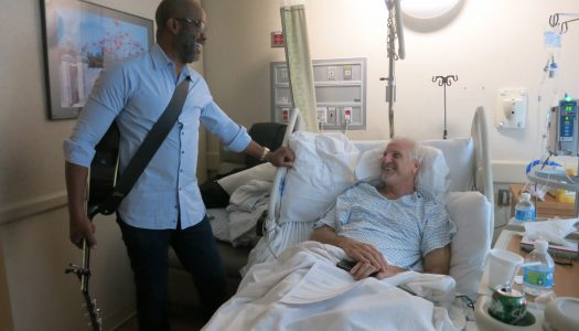 Darius Rucker Makes A Special Musicians On Call Visit At Lenox Hill Hospital In New York City Today