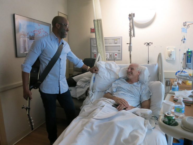 Darius Rucker Makes A Special Musicians On Call Visit At Lenox Hill Hospital In New York City Today. Photo courtesy of PFA Media.