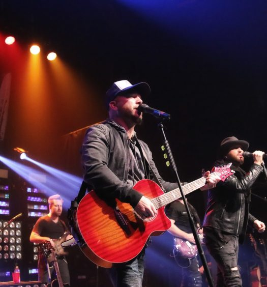 LOCASH at Gramercy Theatre in NYC on February 26, 2017.