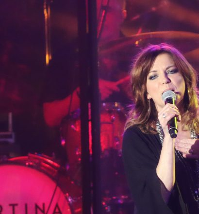 Martina McBride at the Playstation Theater in NYC on March 9, 2017.